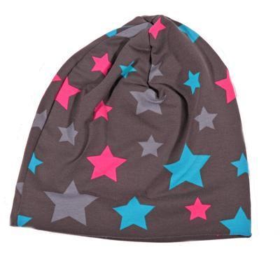 Podzimní dětská čepice Star - 2