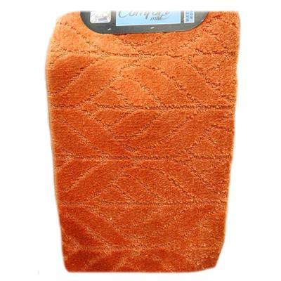 Koupelnová předložka  Vanesa oranžová set 3ks - 2