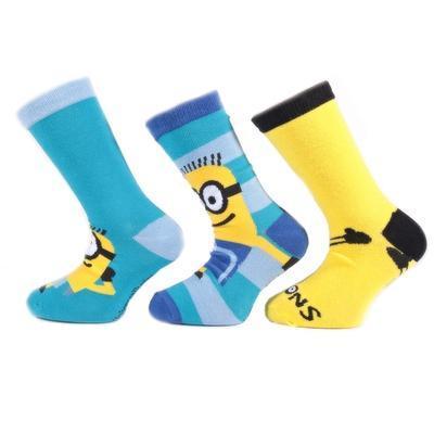 Klasické dětské ponožky Mimoni P3d - 3