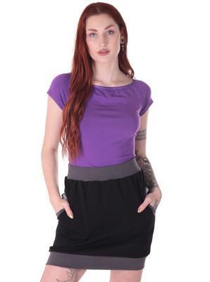 Fialové tričko s krátkým rukávem Belita - 3