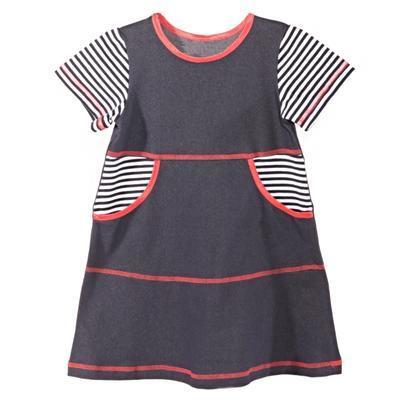 Dívčí šaty krátký rukáv Lucie - 3
