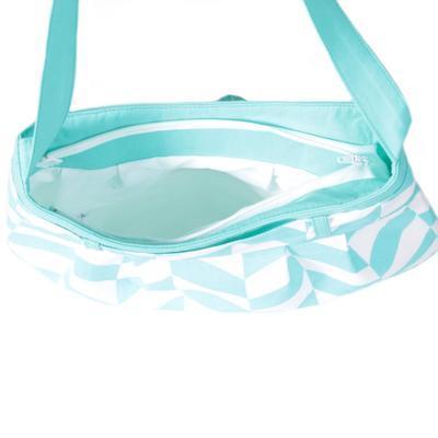 Modrá plátěná kabelka Brigitte - 3