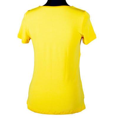 Žluté tričko s krátkým rukávem Daniela - 3