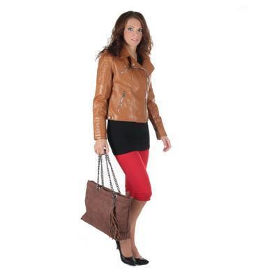 Atraktivní koženková bunda Ramon  - 3