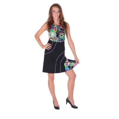 Letní šaty Meriel se zavazováním za krk - 3