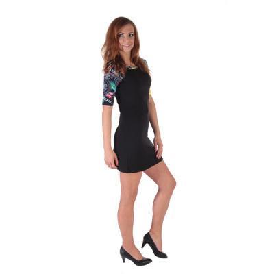 Krátké černé šaty Aimee - 3
