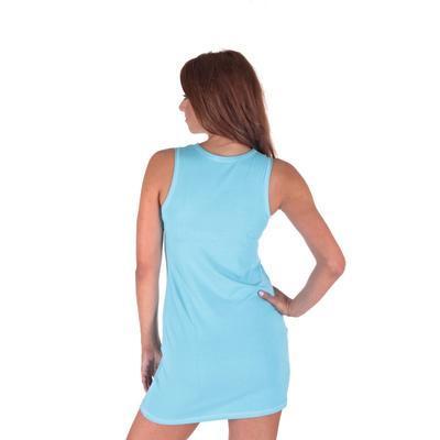 Letní šaty Pandora světle modré - 3