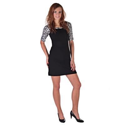 Elegantní dámské šaty Black - 3