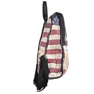 Stylový batoh Natálie motiv Amerika 2A - 3
