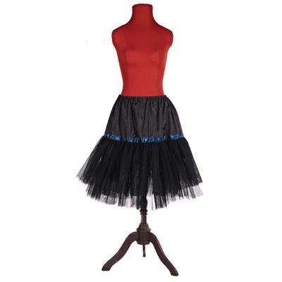 Černá spodnička pod sukně Manky - 3