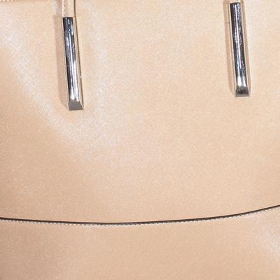 Luxusní krémová kabelka Camila - 3