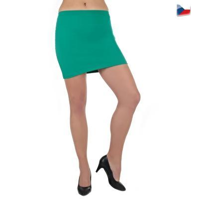 Tmavě zelená sukně Ashle - 3