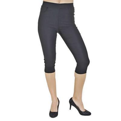 Kalhotové legíny Megan černé - 3