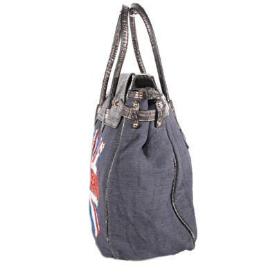 Trendy černá kabelka Vilda motiv England 1G - 3