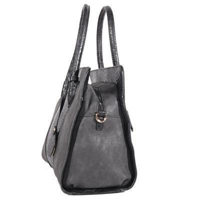 Elegantní černá kabelka Gipy 8A - 3
