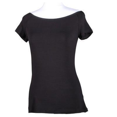 Černé tričko s krátkým rukávem Marika - 3