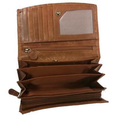 Dámská kožená luxusní peněženka Andora - 3