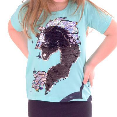 Měnící dívčí tričko Danica - 3