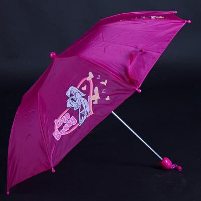Skládací dětský deštník Samson růžový - 3