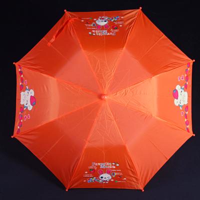 Skládací dětský deštník Samson oranžový - 3