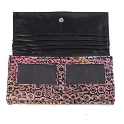 Stylová dámská peněženka Silva růžová - 3
