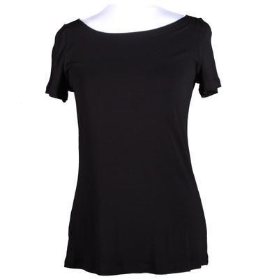 Černé tričko s krátkým rukávem Celestina - 3