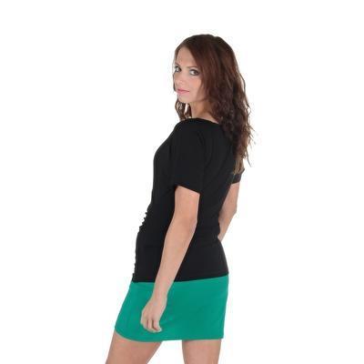 Černé tričko s krátkým rukávem Diana - 3