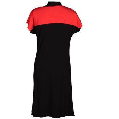 Černé šaty Aylin s potiskem - 3