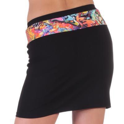 Dámská mini sukně Grafity - 3