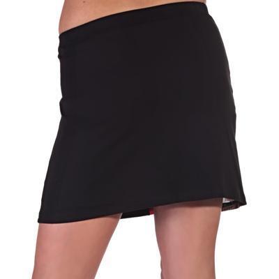Stylová černá sukně s potiskem Liem  - 3