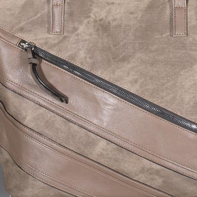 Stylová hnědá kabelka Dalie - 3