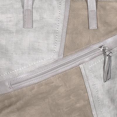 Luxusní šedá kabelka Malvina - 3