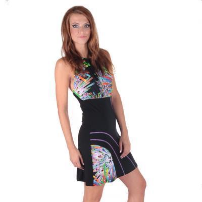 Letní šaty za krk Panky - 3