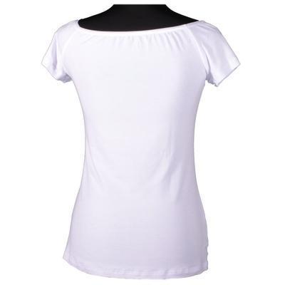 Bílé tričko s krátkým rukávem Marika - 3