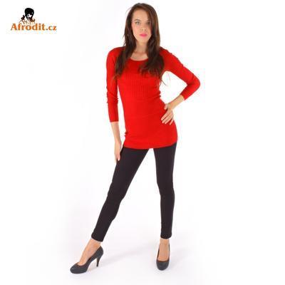 Červený úpletový svetr Rafael - 3