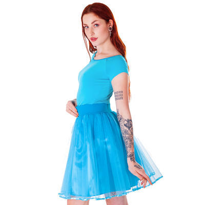 Modré tričko s krátkým rukávem Marika - 3