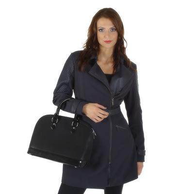 Softshellový modrý kabát Valery - 3