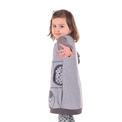 Dívčí bavlněné šatičky Saxana - 3