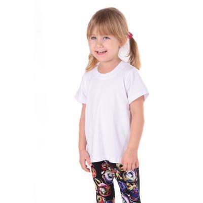 Dětské tričko krátký rukáv Laura bílé od 98-116 - 3