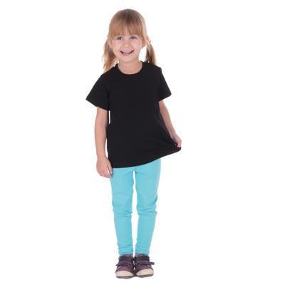 Černé dětské tričko krátký rukáv Laura od 98-116 - 3