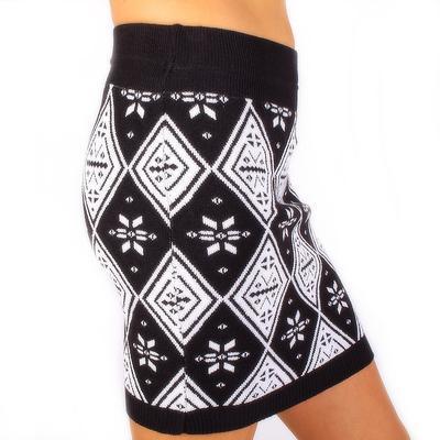 Pletená zimní sukně Nena - 3