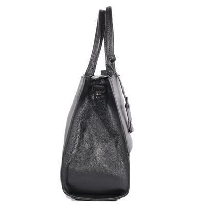 Atraktivní dámská černá kabelka Andre 7A - 3