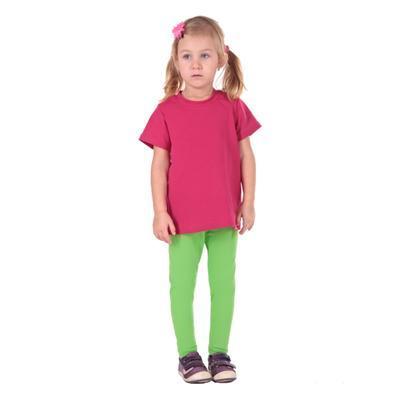 Světle zelené dětské legíny Cruso od 98-116 - 3