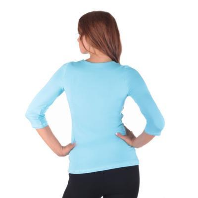 Světle modré dámské tričko Riky - 3