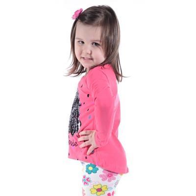 Růžové měnící bavlněné tričko Mick - 3
