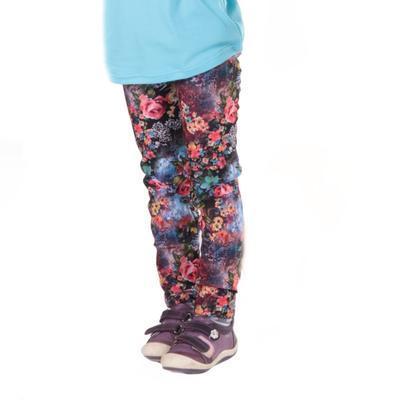 Květované zimní dívčí legíny Andrea - 3