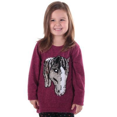 Dívčí svetr s měnícím obrázkem Pedro růžové - 140, 140 - 3