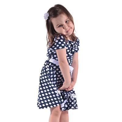 Dívčí letní puntikaté šaty Tina - 3