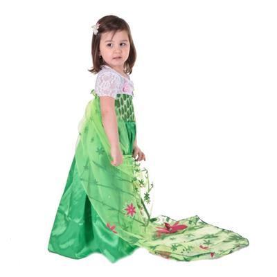 Karnevalový kostým princezna Elsa zelený - 3