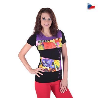 Elegantní tričko Naill  fialové - 4